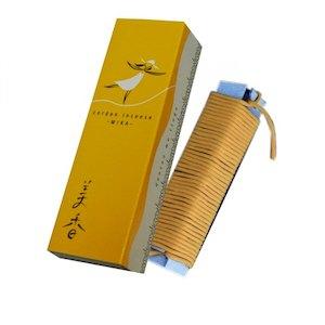 【送料無料・まとめ買い×100】薫寿堂 紐のお香 美香 檀の香り×100点セット(4972853016186)