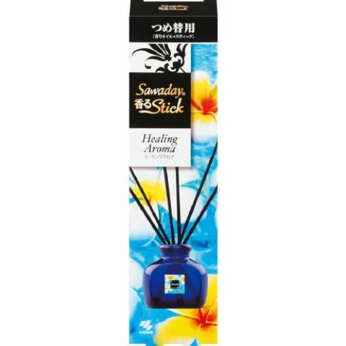 【送料無料・まとめ買い×070】Sawaday サワデー 香るStick 替 ヒーリングアロマ 50ml×070点セット(4987072050576)