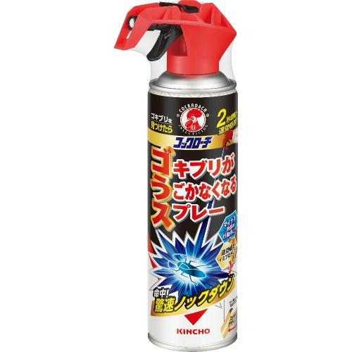 冷却 本物 殺虫でゴキブリを瞬間駆除 4987115321601 値下げ 大日本除虫菊 ゴキブリがうごかなくなるスプレー 300ml コックローチ