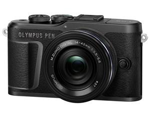 決済確認平日15時 入荷予定 土曜13時まで即日出荷から E-PL10 EZダブルズームキット ブラック OLYMPUS PEN オリンパス ミラーレス一眼カメラ テレビで話題 付属レンズ2本 M.ZUIKO 14-42mm EZ DIGITAL 40-150mm ED F3.5-5.6 F4.0-5.6 R 送料無料 新品
