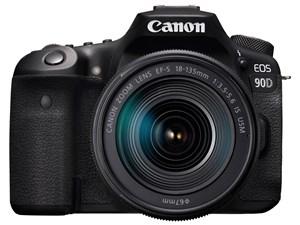 EOS 90D EF-S18-135 IS USM レンズキット CANON デジタル一眼カメラ【送料無料】【新品】