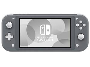 決済確認平日15時 土曜13時まで即日発送から Nintendo Switch Lite オープニング 大放出セール グレー 任天堂 送料無料 ゲーム機本体 延長保証物損プラン対象外 予約販売品 新品