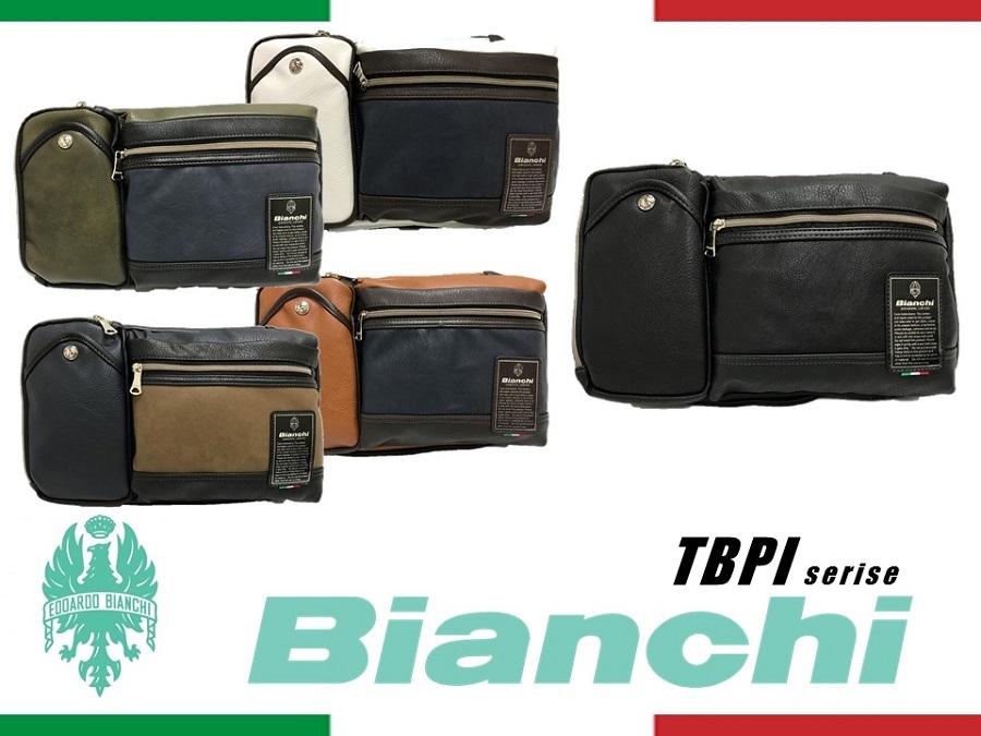 TBPI06 Bianchi ビアンキ 3WAY ボディバッグ ショルダー クラッチ メンズ レディース【日本正規品】【送料無料】【新品】