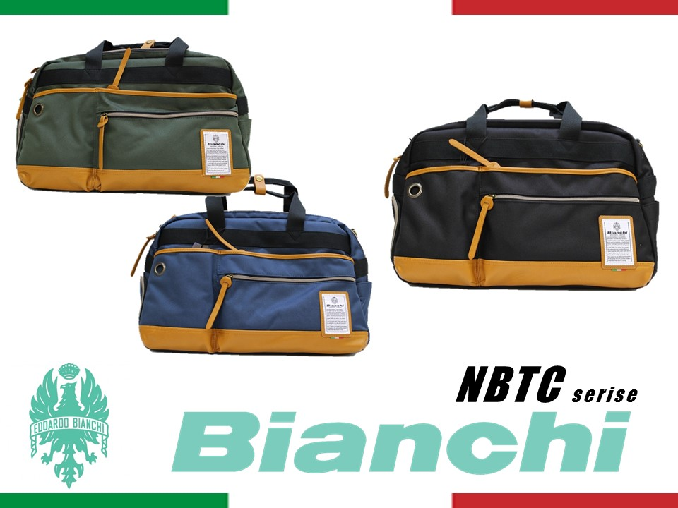 NBTC14 Bianchi ビアンキ ボストンバッグ メンズ レディース ショルダー【日本正規品】【送料無料】【新品】