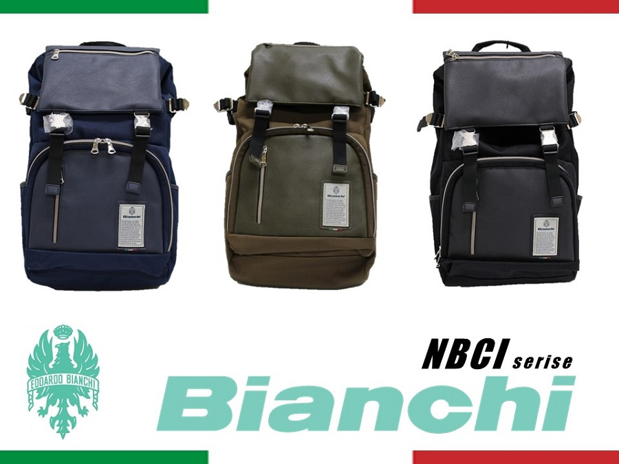 NBCI06 Bianchi ビアンキ リュック バックパック メンズ レディース【日本正規品】【送料無料】【新品】