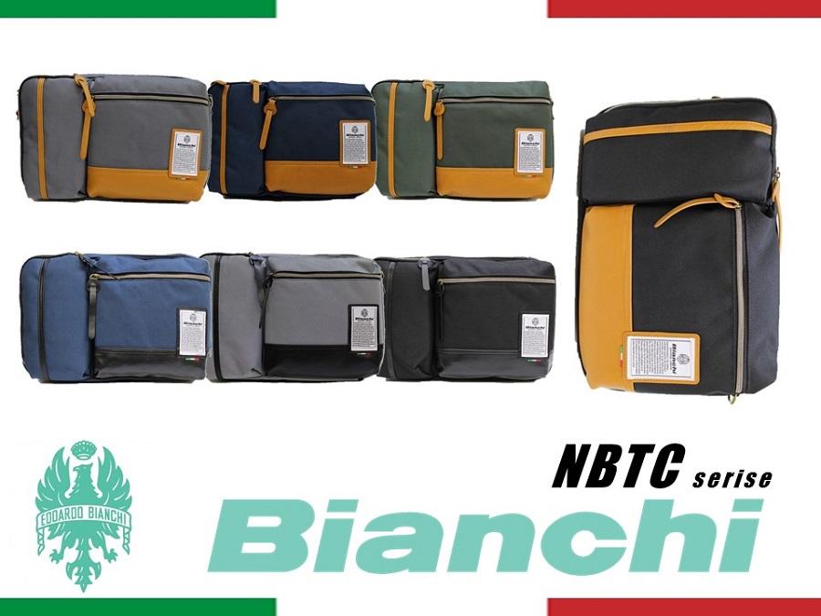 NBTC38 Bianchi ビアンキ ボディ クラッチ ショルダー メンズ レディース 3WAY【日本正規品】【送料無料】【新品】