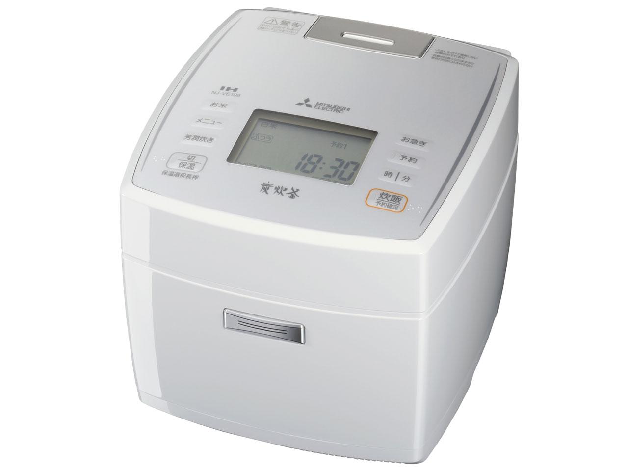 NJ-VE108 備長炭 炭炊釜 三菱電機【送料無料】【新品】