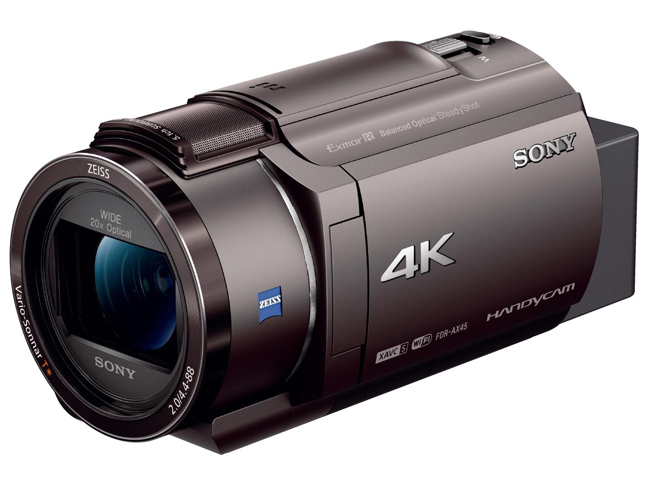 FDR-AX45 (TI)SONY ビデオカメラ 4K【送料無料】【新品】