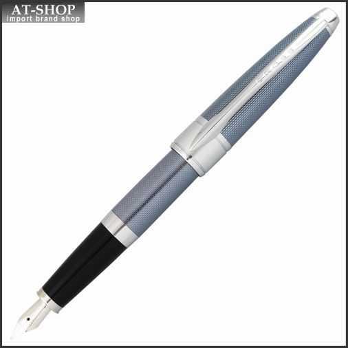 CROSS クロス 万年筆 アポジー フロスティスティール ペン先 M:中字 AT0126-6-M お祝いギフト プレゼント 海外ブランド高級筆記具