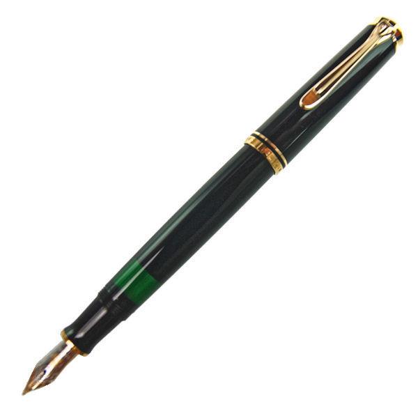 Pelikan ペリカン 万年筆 スーベレーン M400 ブラック ペン先 M:中字