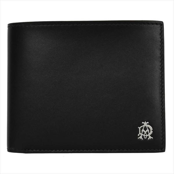 DUNHILL ダンヒル 財布サイフ WESSEX 二つ折り財布 L2AS32A ブラック