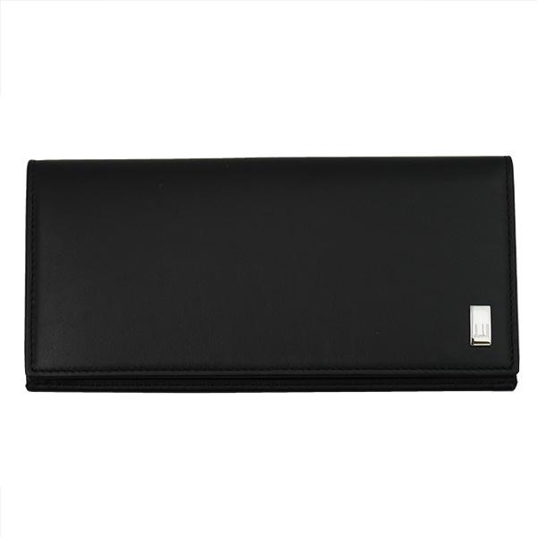 DUNHILL ダンヒル 財布サイフ SIDECAR 二つ折り長財布 QD1010A ブラック