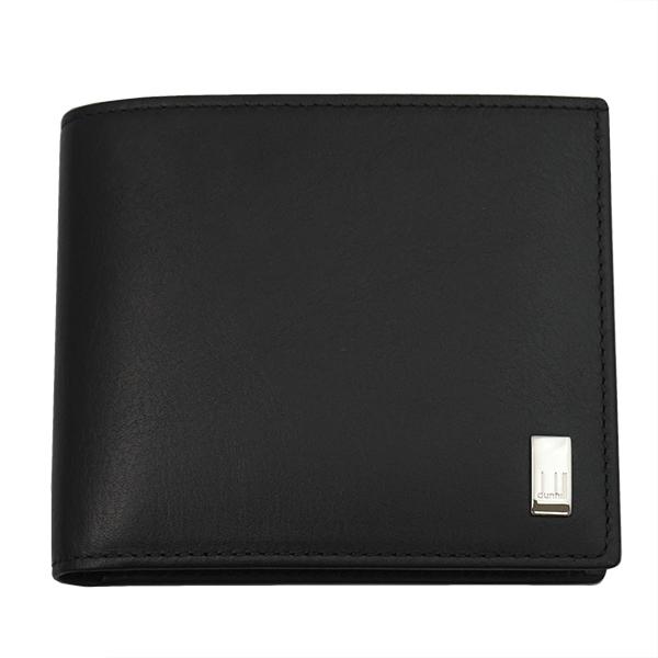 DUNHILL ダンヒル 財布サイフ SIDECAR 二つ折り財布 QD3070A ブラック
