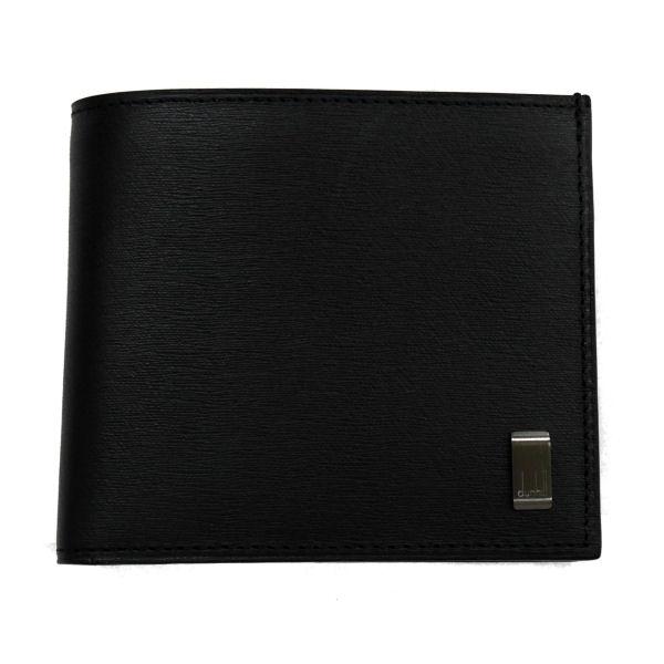 DUNHILL ダンヒル 財布サイフ SIDECAR 二つ折り財布 L2RF32A ブラック