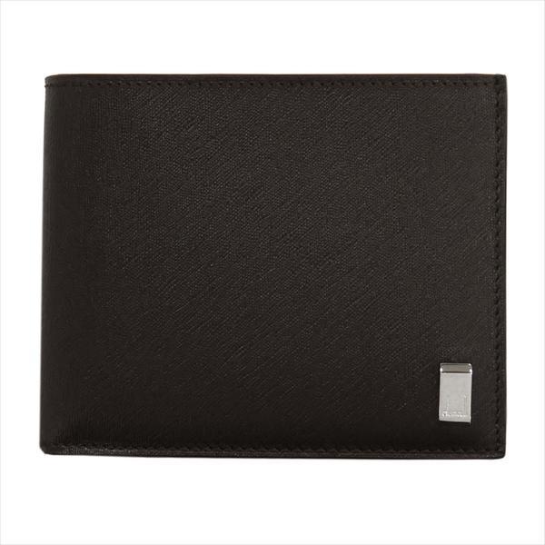 DUNHILL ダンヒル 財布サイフ SIDECAR 二つ折り財布 FP3070E ブラウン
