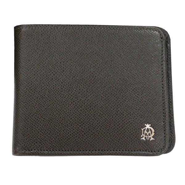 DUNHILL ダンヒル 財布サイフ BOURDON 二つ折り財布(小銭入れ無) L2M130Z ダークグレー