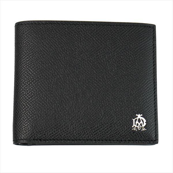 DUNHILL ダンヒル 財布サイフ BOURDON 二つ折り財布 L2X232A ブラック