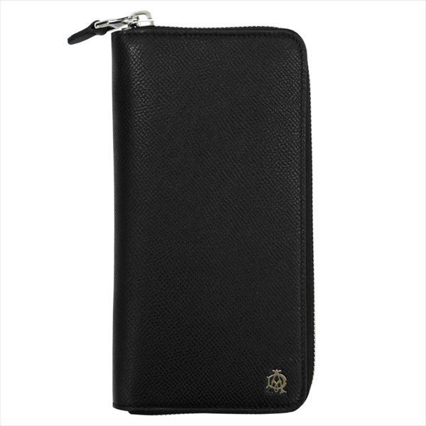 DUNHILL ダンヒル 財布サイフ CADOGAN ラウンドファスナー長財布 L2X218A ブラック