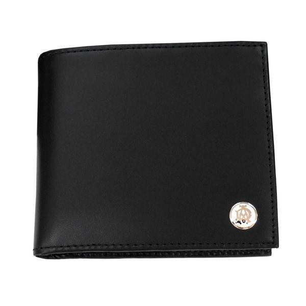 DUNHILL ダンヒル 財布サイフ GINZA 二つ折り財布(小銭入れ有) L2LJ32A ブラック