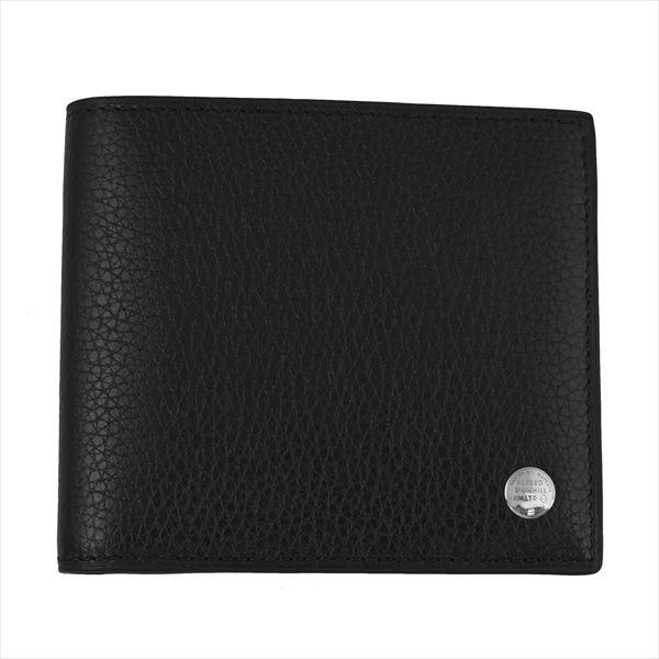 DUNHILL ダンヒル 財布サイフ BOSTON 二つ折り財布 L2W332A ブラック