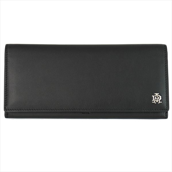 DUNHILL ダンヒル 財布サイフ REEVES 二つ折り長財布 L2XR10A ブラック