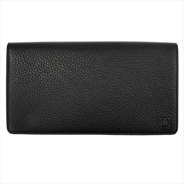 DUNHILL ダンヒル 財布サイフ YORK 長財布 インナー3点取り外し可能(小銭入れ有) L2R445A ブラック