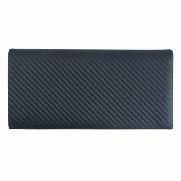 DUNHILL ダンヒル 財布サイフ CHASSIS 二つ折り長財布 L2A210A カーボンブラック