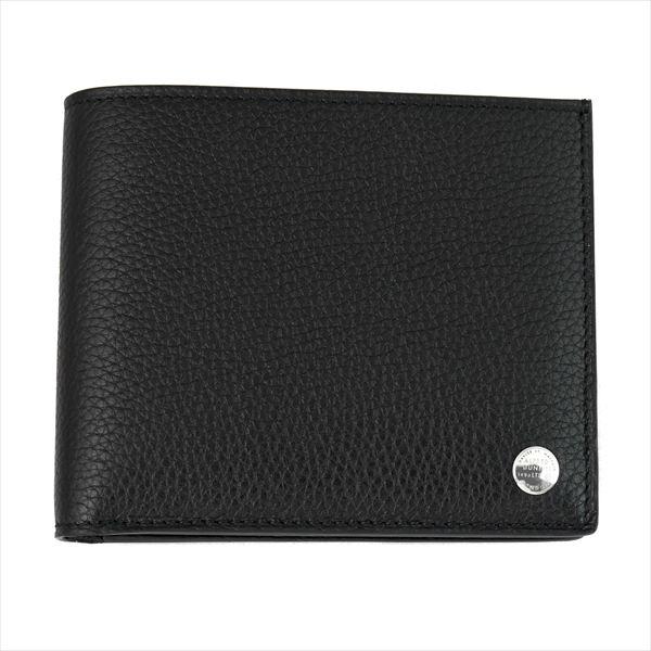 DUNHILL ダンヒル 財布サイフ BOSTON 二つ折り財布 (小銭入れ無)L2V330A ブラック