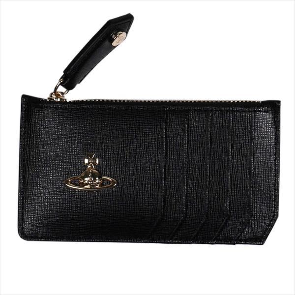 Vivienne Westwood ヴィヴィアン・ウェストウッド 財布サイフ NO,10 SAFFIANO 小銭入れ財布 51060015 BLACK 18SS ブラック