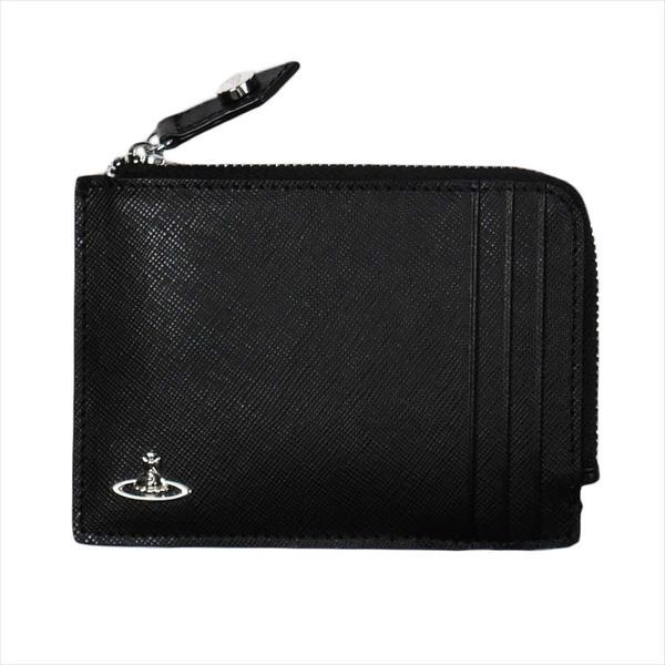 Vivienne Westwood ヴィヴィアン・ウェストウッド 財布サイフ NO,10 KENT 小銭入れ財布 51040029 BLACK 18SS ブラック