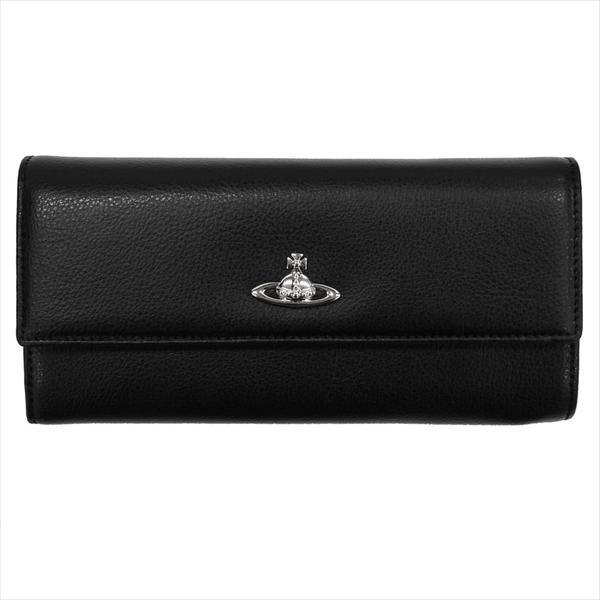 Vivienne Westwood ヴィヴィアン・ウェストウッド 財布サイフ NO,9 SHEFFIELD 二つ折り長財布 321555 BLACK 17AW ブラック