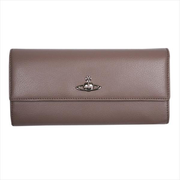 Vivienne Westwood ヴィヴィアン・ウェストウッド 財布サイフ NO,9 CAMBRIDGE 二つ折り長財布 321547 GREY 17AW グレー