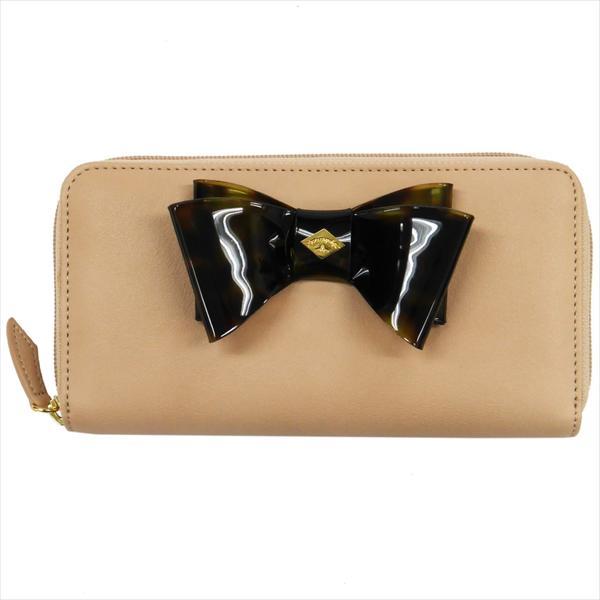 Vivienne Westwood ヴィヴィアン・ウェストウッド 財布サイフ NO,8 SOMERSET ラウンドファスナー長財布 5140V126V ROSE 17SS ローズ
