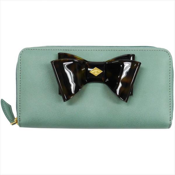 Vivienne Westwood ヴィヴィアン・ウェストウッド 財布サイフ NO,8 SOMERSET ラウンドファスナー長財布 5140V126V TURQUOISE 17SS ターコイズ