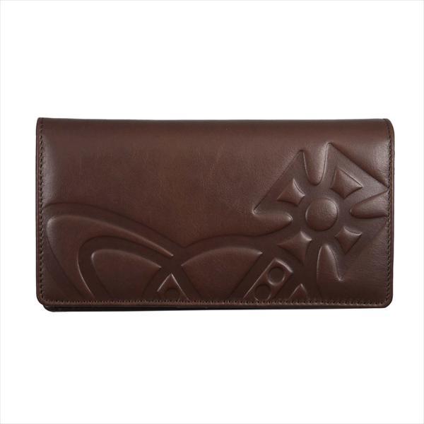 Vivienne Westwood ヴィヴィアン・ウェストウッド 財布サイフ NO,10 CHESTER 二つ折り長財布 51040010 BROWN 18SS ブラウン