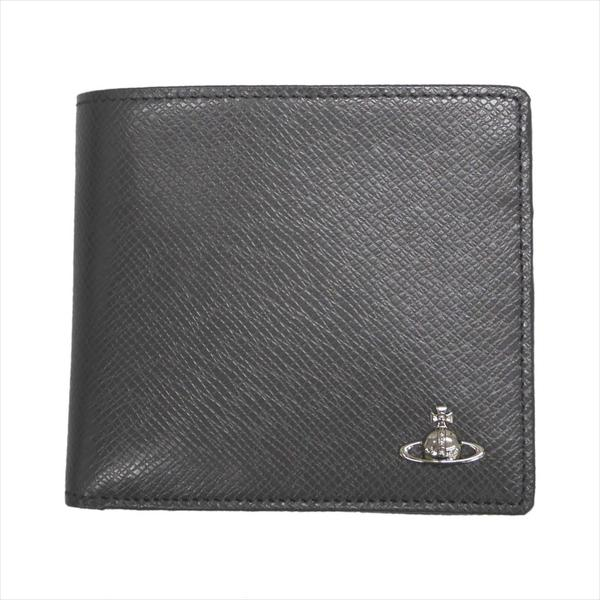 Vivienne Westwood ヴィヴィアン・ウェストウッド 財布サイフ NO,10 KENT 二つ折り財布 51010016 GREY 18SS グレー