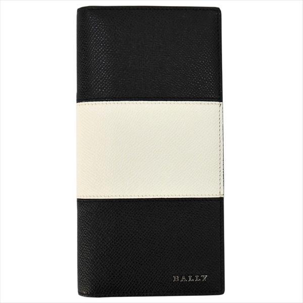 BALLY バリー 財布サイフ 二つ折り長財布 LALIRO BOLD カラー00 BLACK 6205510 ブラック