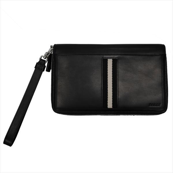BALLY バリー 財布サイフ TINGER 6208238 BLACK トラベルウォレット ブラック