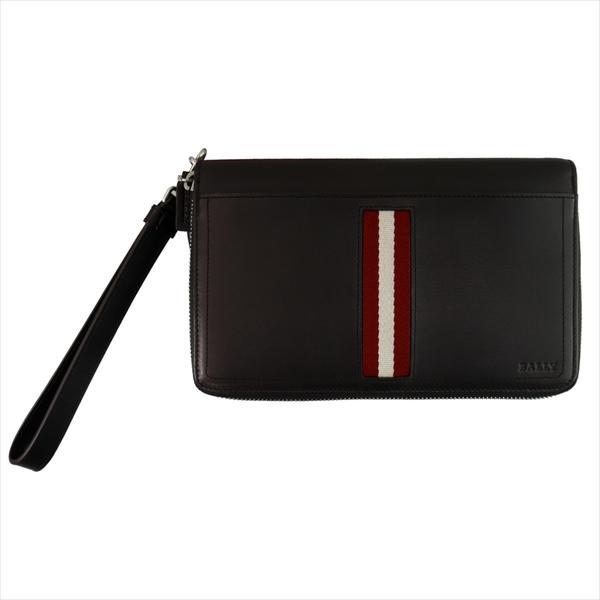 BALLY バリー 財布サイフ TINGER 6208237 CHOCOLATE トラベルウォレット チョコ