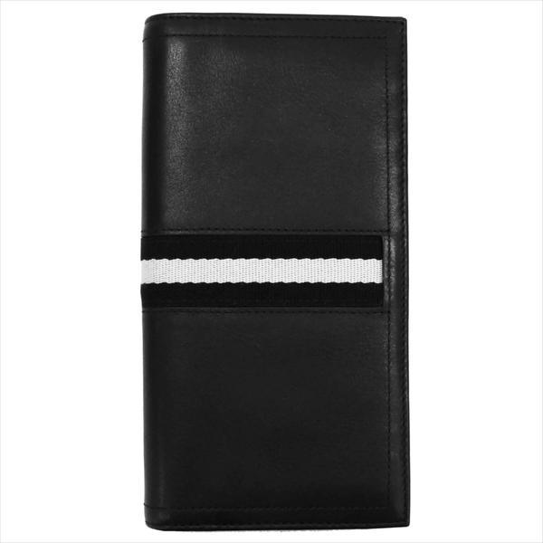BALLY バリー 財布サイフ 二つ折り長財布 TALIRO カラー290 BLACK 6166474-001 ブラック