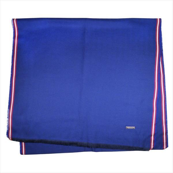 BALLY バリー マフラー M7D043F-6212415 ブルー