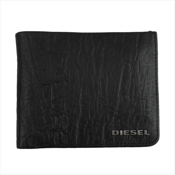 DIESEL ディーゼル 財布サイフ ENJOY-IT! HIRESH S 二つ折り財布 X04138 T8013 ブラック