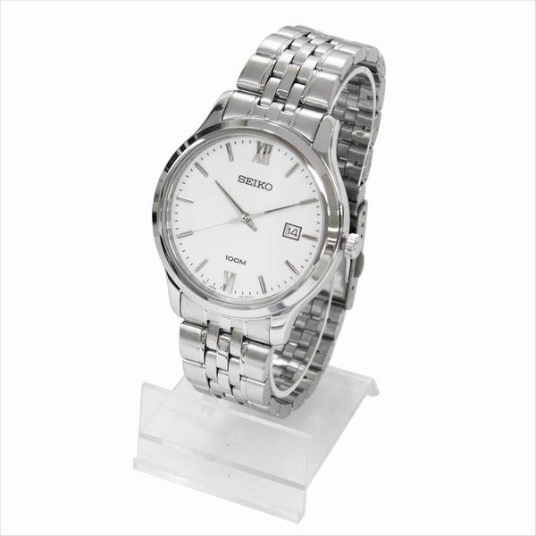 SEIKO セイコー 腕時計 クォーツ SUR217P ホワイト×シルバー