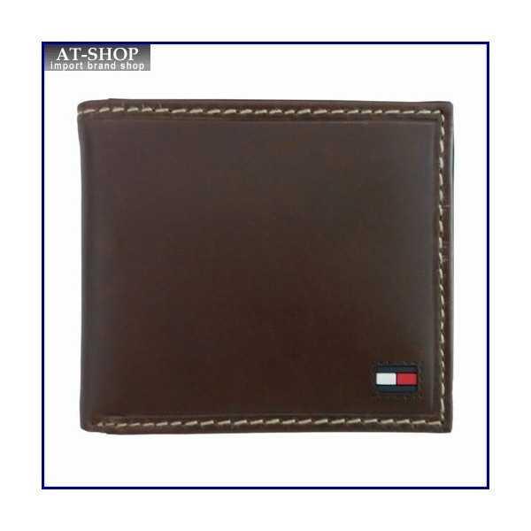 トミー・ヒルフィガー 海外ブランド 二つ折り長財布 お祝いギフト Highland ブラック ラグジュアリー 31TL19X013BLACK 財布サイフ TOMMY HILFIGER プレゼント