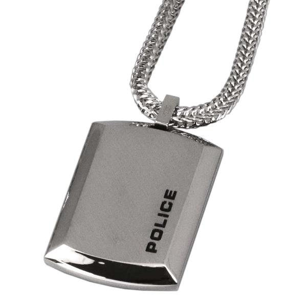 POLICE ポリス ネックレス ステンレス シルバー POLICE N PURIT 24920pss-a