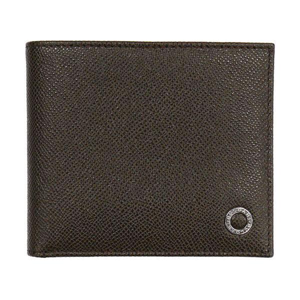 BVLGARI ブルガリ 財布サイフ BVLGARI 二つ折り財布 36329 ダークブラウン