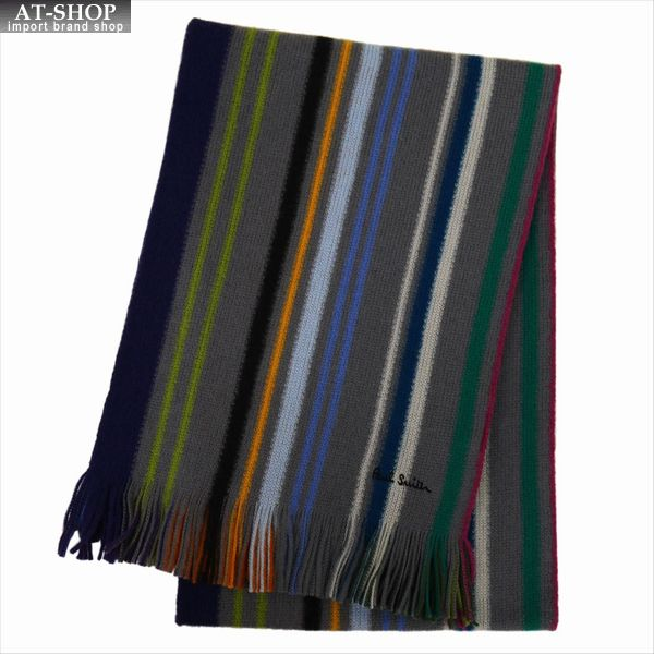 Paul Smith ポール・スミス マフラー MEN SCARF LIONEL REV M1A-810E-AS10-76 2019AW