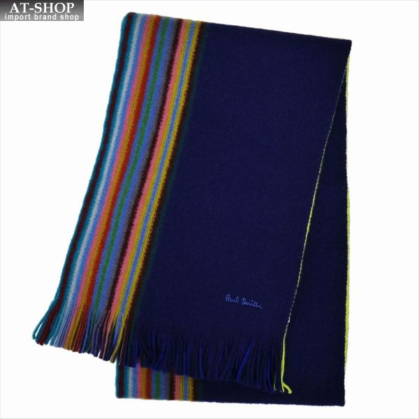 Paul Smith ポール・スミス マフラー MEN SCARF MULTI EDGE M1A-811E-AS10-47 2019AW