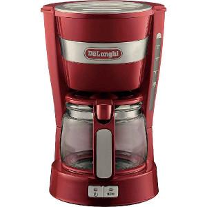 デロンギドリップコーヒーメーカー レッド ICM14011J-R 3個セット