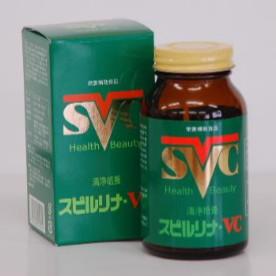 【当店は4980円以上で送料無料】スピルリナ VC 3個セット